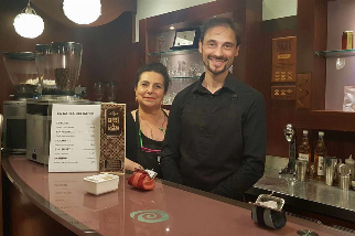 Speciality Coffee Concoctions Made with Love and Devotion at Aroma Caffee, Bologna.